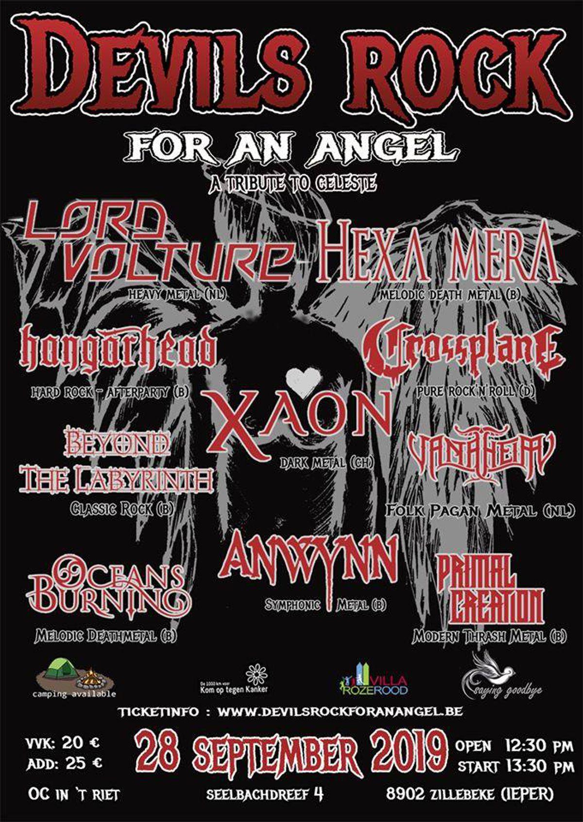 Devils Rock For An Angel 2019</b> - Rock-'n-roll met een hart