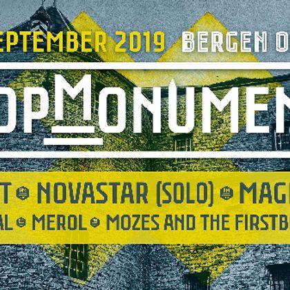 Popmonument 2019: groeten uit België