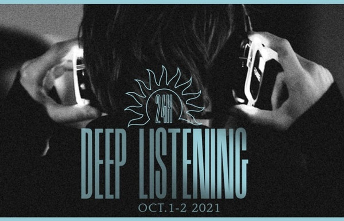 24 Hours Deep Listening - Dag 1 - I want to drone again
