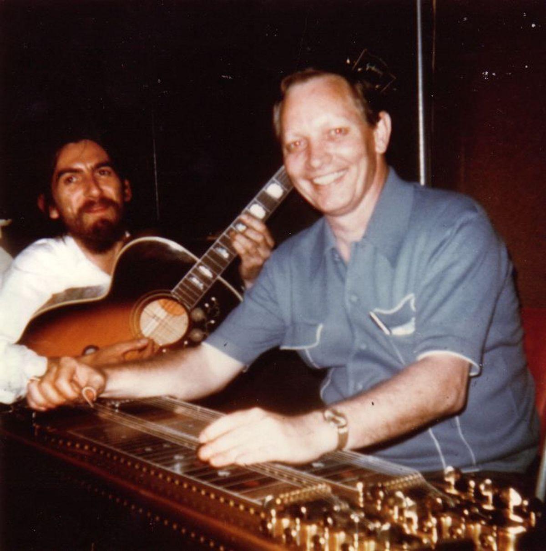 #Pedalsteel - George Harrison - Behind That Locked Door (1970)