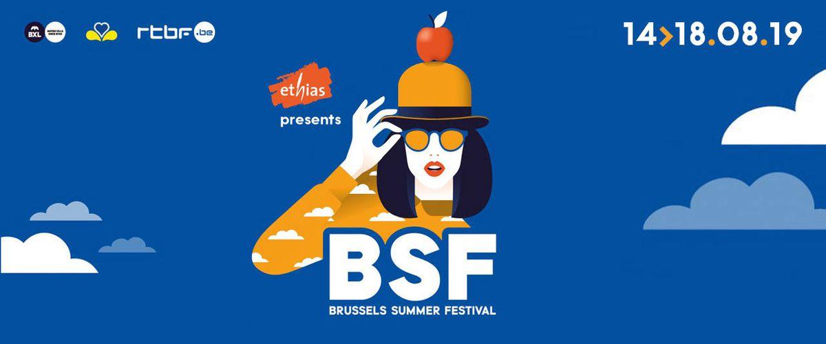 Brussels Summer Festival 2019: een waaier van mogelijkheden