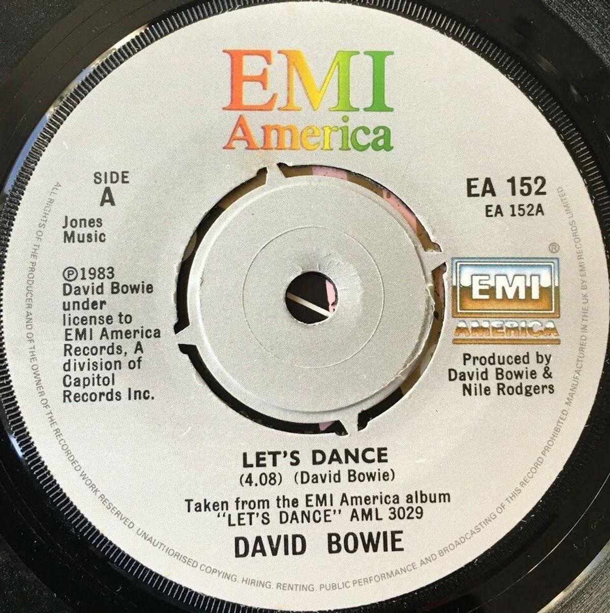 Bowie's enige nummer één-hit