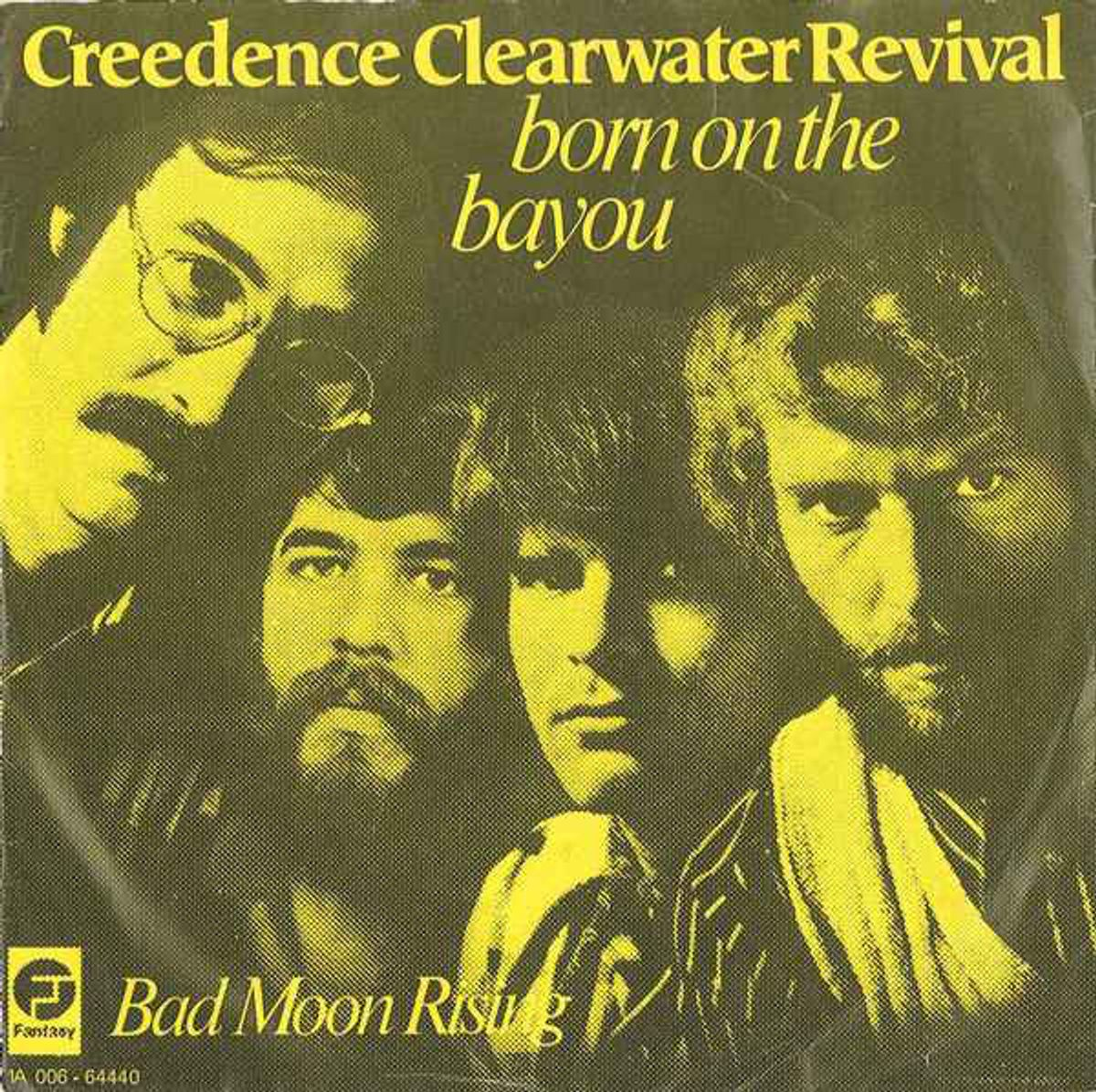 #NewOrleans - Creedence Clearwater Revival - Born On The Bayou (1969)