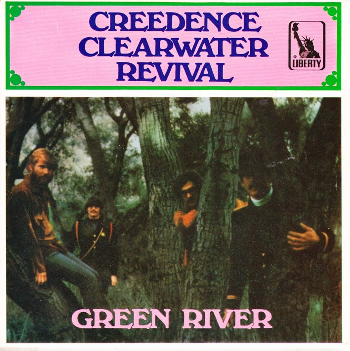 #RickenbackerRules - Creedence Clearwater Revival - Green River (1969)