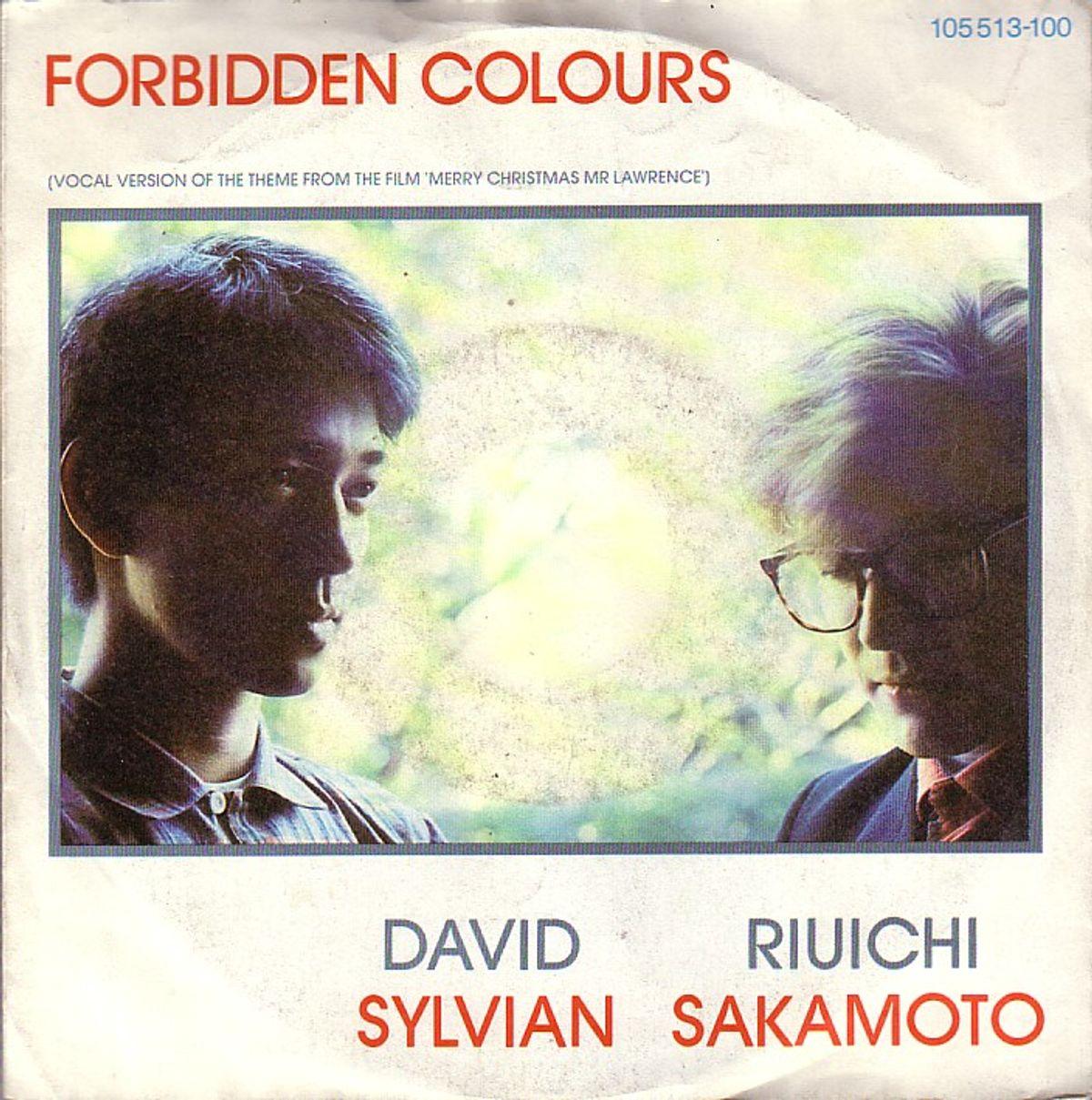 #DavidSylvian - Sylvian & Sakamoto - Forbidden Colours (1983)