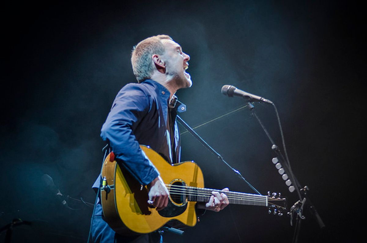 An acoustic evening with David Gray</b> - Klok van een stem