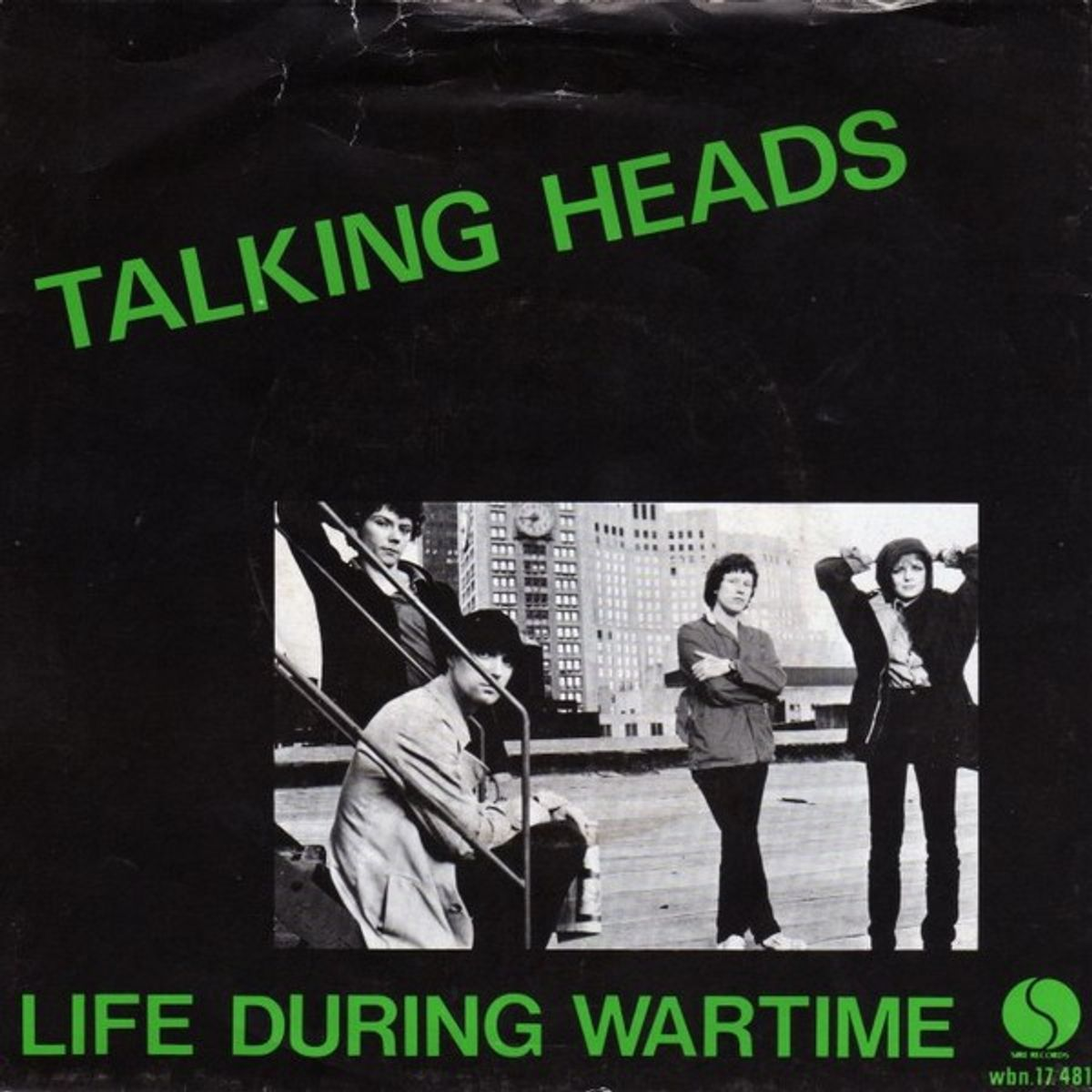 #Quarantainemuziek - Talking Heads - Life During Wartime (1979)