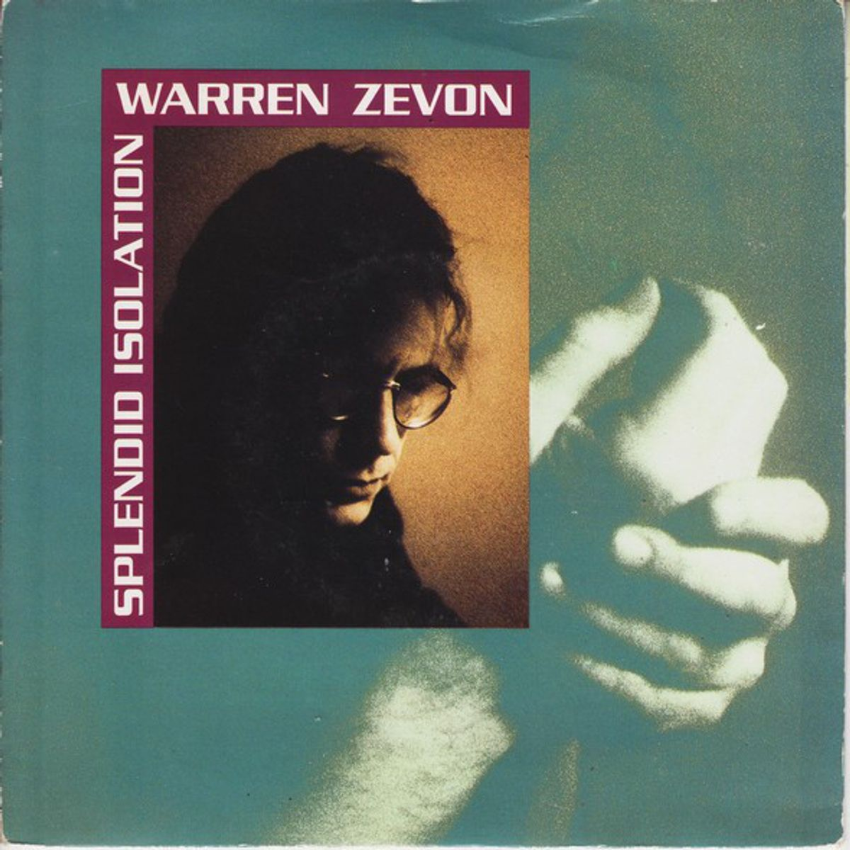 #Quarantainemuziek - Warren Zevon - Splendid Isolation (1989)