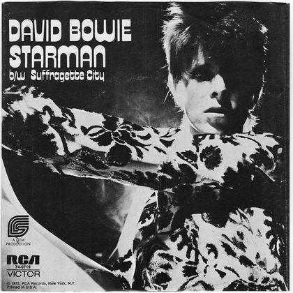 #Bkantopwaardering - David Bowie - Suffragette City (1972)