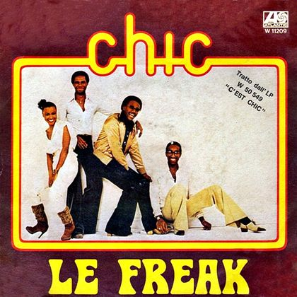 #CestDuNile - Chic - 'Le Freak (1978)