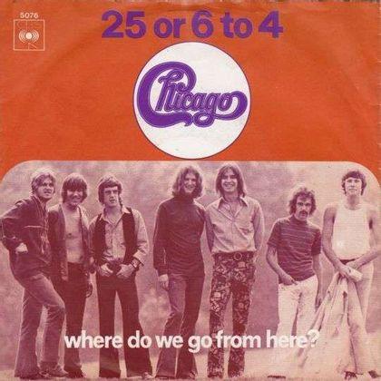 #Koperwaren - Chicago - 25 Or 6 To 4 (1970)