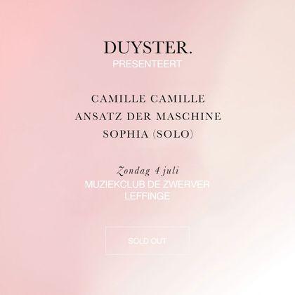 Duyster presenteert Sophia (solo) en meer