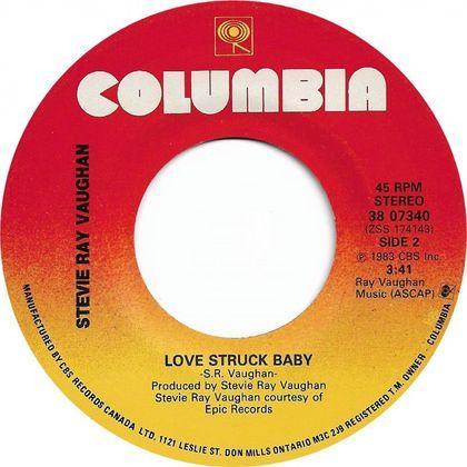 #Vaughanblues - Stevie Ray Vaughan - Love Struck Baby (1983)