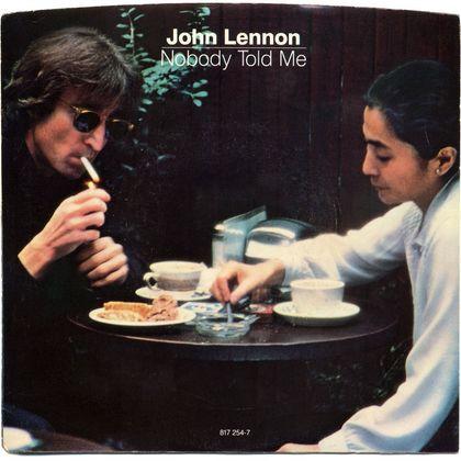 #PostumePlaatjes - John Lennon - Nobody Told Me (1984)