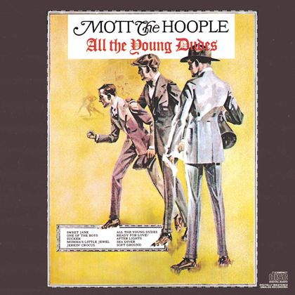 #BowieSteunt - Mott The Hoople - All The Young Dudes (1972)