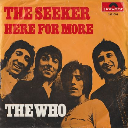 #Namecheck - The Who - The Seeker (1971)